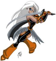 Titan Valkyries - Ravager by teentitans