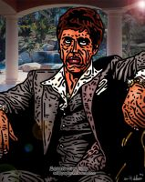 Scarface... Art Work by arihoff