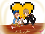 Our love of Gold: Valentine's Day by CapnMeli