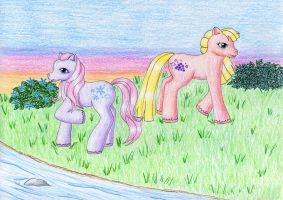 Petal Blossom and Berry Bright by NormaLeeInsane