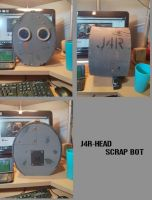 J4R-HEAD Scrapbot Helmet by abnoormal