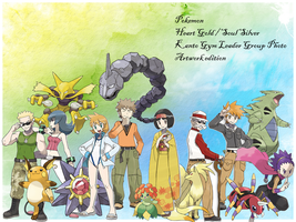 Kanto Leader Group Photo by blasteg