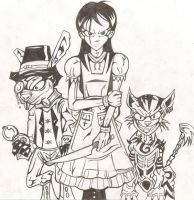 Alice and her Homies by Alice-fanclub