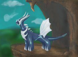 Realistic Pokemon 11 Dialga by IanMelbourne93