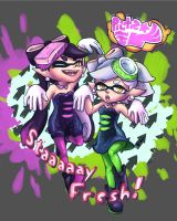 Staaaay Fresh! -Splatoon by Artsenseiofdreams