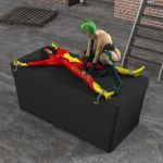 Moments in Peril, 3, Spiderwoman (Alt. View 1) by Sleeper77