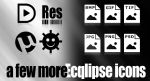 a few more Ecqlipse Icons by Mike1302