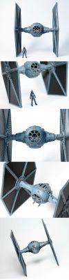 TIE Fighter Collage by enc86