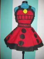 Dalek Supreme Cosplay Pinafore by DarlingArmy