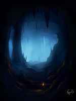 The Cave of Phantoms by ErigadGreatwood