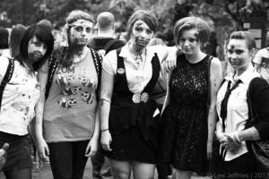 Zombie Walk 2012 by FernMaiCoulson