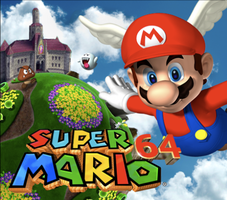 Super Mario 64 Artwork by Brandon3DS