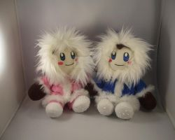Ice Climber plush set by pandari