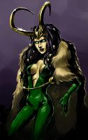 Lady Loki by DarianKite