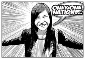 Only One Nation by koreuption