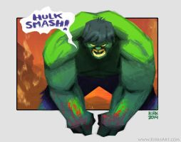 Hulk Smash by KIRKparrish