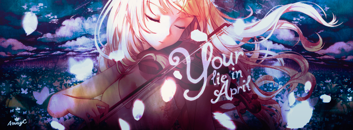 Your lie in April by AmayraniCB