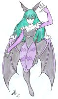Morrigan Aensland by TwinCandles