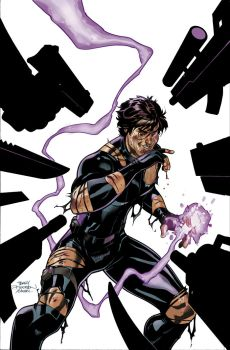 Gambit #7 Cover Color by TerryDodson