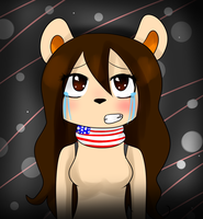 I'm sad me in Five Nights at Freddy's by ChicaSuperKiller