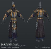 Warhammer Online: Dark Elf NPC by YeeWu