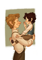 The Baggins that showed real spirit by Inimeitiel-chan