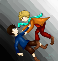 Hold On--Theta and Koschei by AlthaeaBuddy