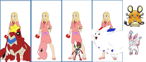 Pokemon Series: Becca's Team by Colleen15