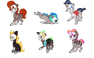 Finnedyr Adopts (12) -CLOSED- by HitMeWithBrokenLeave