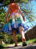 Gay skirt by ludicrouslouisa