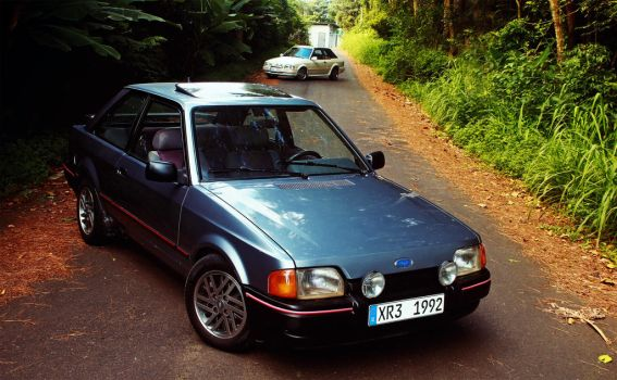 Ford Escort XR3 by Evannrpg