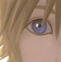 Close Up Roxas by simplexcalling