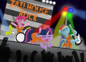 The Jailhouse Rock by M0rshu64
