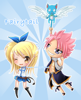 Fairytail set by moon-valkyrie