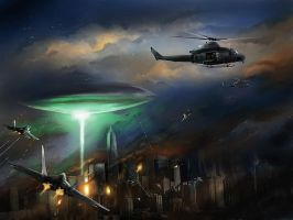 Alien Strike NY by jose144