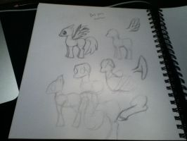 Sketch page 4 [PONYS] (12/8/12) by icanmake