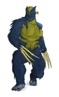 "Feral Wolverine ""Alternate"" by Karbacca"