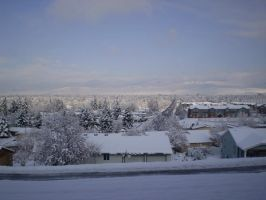 Winter in Missoula by Raulboy