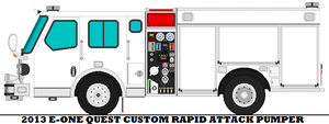 2013 E-One Quest Custom Rapid Attack Pumper by mcspyder1