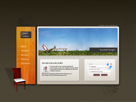 Furniture store - web concept3 by VoidGFX