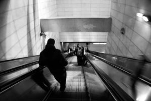 Lyon - Subway by John-Furie-Zacharias