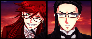Grell and William by VermeilleRose