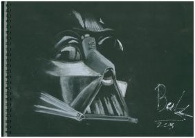 Darth Vader sketch 1 by oluklu