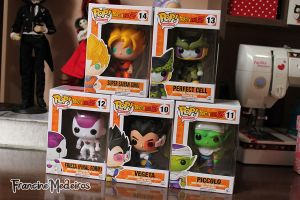 Funko Pop Dragonball z by theredprincess
