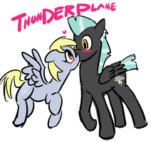 thunderplane by moronsonofboron