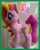 mlp plushie commission AMAZING GRACE completed by CINNAMON-STITCH