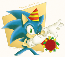 Happy New Year 2012 by SonicSpeedz