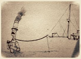TheLighthouse: shipcarrier rob by Alesinsobrenombre