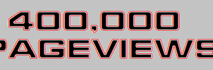400,000 Pageviews by bagera3005