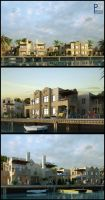 Sea Houses by pitposum